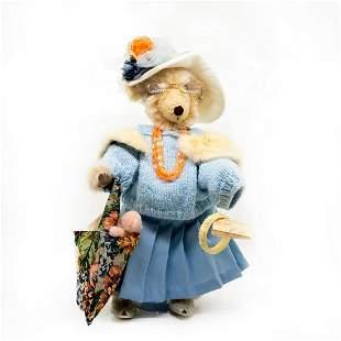 Barbara's Originals Honey Cups Teddy Bear, Auntie Ethel