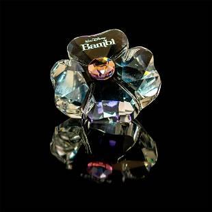 Swarovski Crystal Figurine, Disney Bambi Flower Title