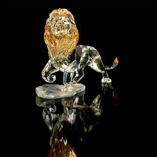 Swarovski Crystal Figurine, Lion King Mufasa