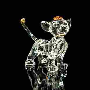 Swarovski Figurine, Simba Lion Cub 1048304