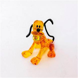 Swarovski Crystal Disney Dog Figurine, Pluto