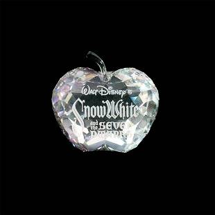 Swarovski Snow White Title Plaque 1016525