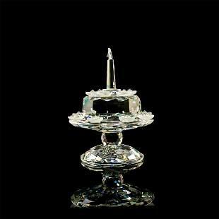 Swarovski Figurine, Birthday Cake 169678