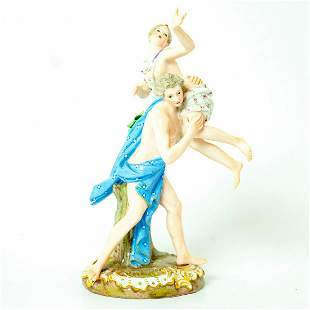 Meissen Porcelain Figurine, Robbery Of The Sabinerin