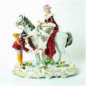 Sitzendorf Porcelain Lace Figurine
