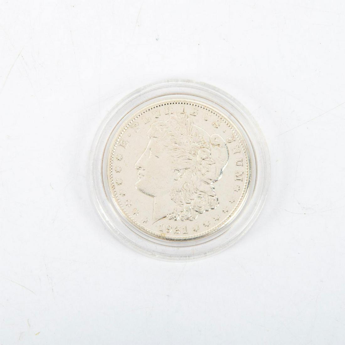 Ms65 Uncirculated 1921 S Morgan Silver Dollar Coin