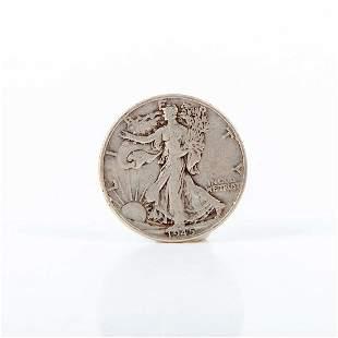 1944 To 1947 Walking Liberty Silver Half Dollars