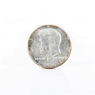 1966 To 1969 Kennedy Silver Half Dollars