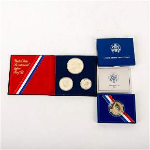 2 Proof Us Anniversary Coins.