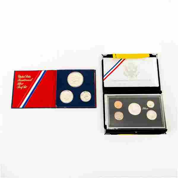 2 Proof Us Coin Sets