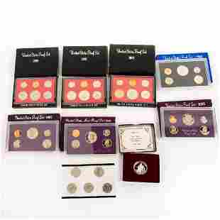 Us Mint Silver Proof Sets