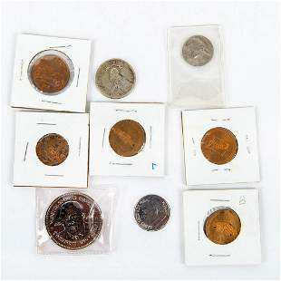 """9 """"Rare"""" Collectable Coins and Tokens"""
