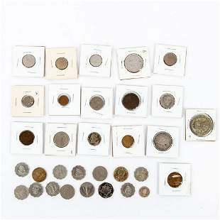 Group of Central And South America Related Coins