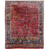 Antique Persian Sarouk Rug, c.1920
