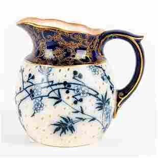 Doulton Burslem Ceramic Jug, Floral