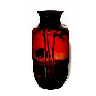 Royal Doulton Sung Flambe Vase, Noke