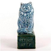 Doulton Lambeth RSPCA Collection Box, Cat