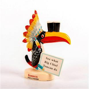 Royal Doulton Advertising Guinness Figurine Big Chief