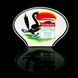 Royal Doulton Guinness Toucans Ceramic Plaque