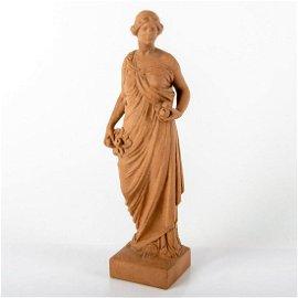 Extremely Rare Royal Doulton Lambeth Figurine, Pomona