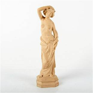 Extremely Rare Doulton and Co. Lambeth Figurine, Woman