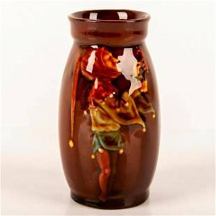 Royal Doulton Kingsware Miniature Jester Vase
