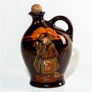 Royal Doulton Kingsware Whiskey Bottle, Night Watchman