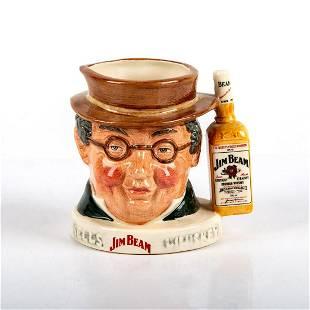 Royal Doulton Small Character Jug Mr. Pickwick Jim Beam