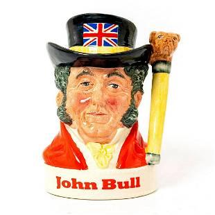 Royal Doulton Liquor Container, John Bull