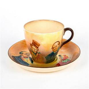 Royal Doulton Dickens Cup And Saucer Set D5833