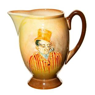 Royal Doulton Dickens Small Pitcher, Sam Weller