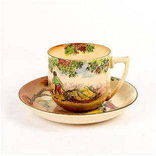 Royal Doulton Seriesware, The Gleaners Cup & Saucer