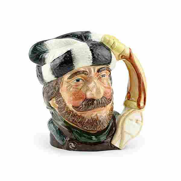Trapper D6612 - Small - Royal Doulton Character Jug