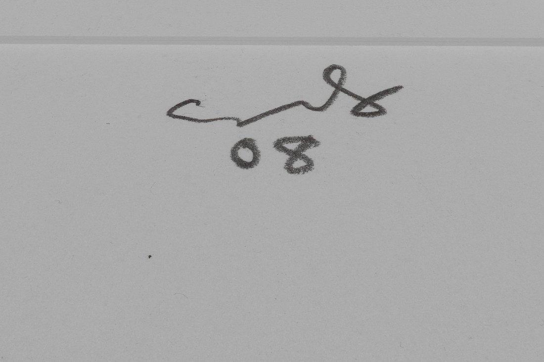 La Fille du Regiment - George Condo: ORIGINAL DRAWING - 5