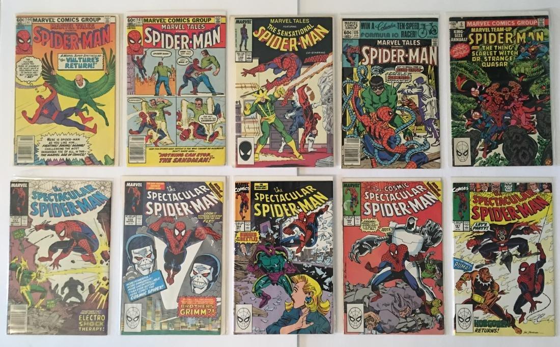 MARVEL COMICS SPIDER-MAN COMIC BOOK LOT (10)