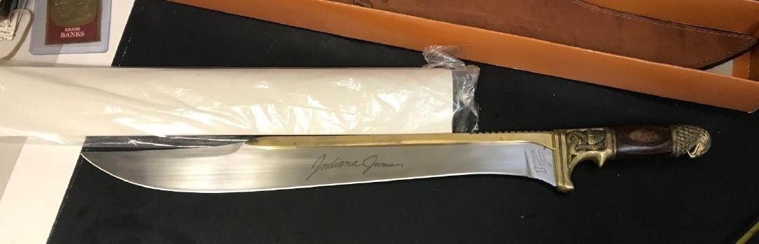 INDIANA JONES Machete [United Cutlery 1989] NIB - 4
