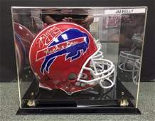 "JIM ""MACHINE GUN"" KELLY SIGNED RIDDELL HELMET JSA/COA"