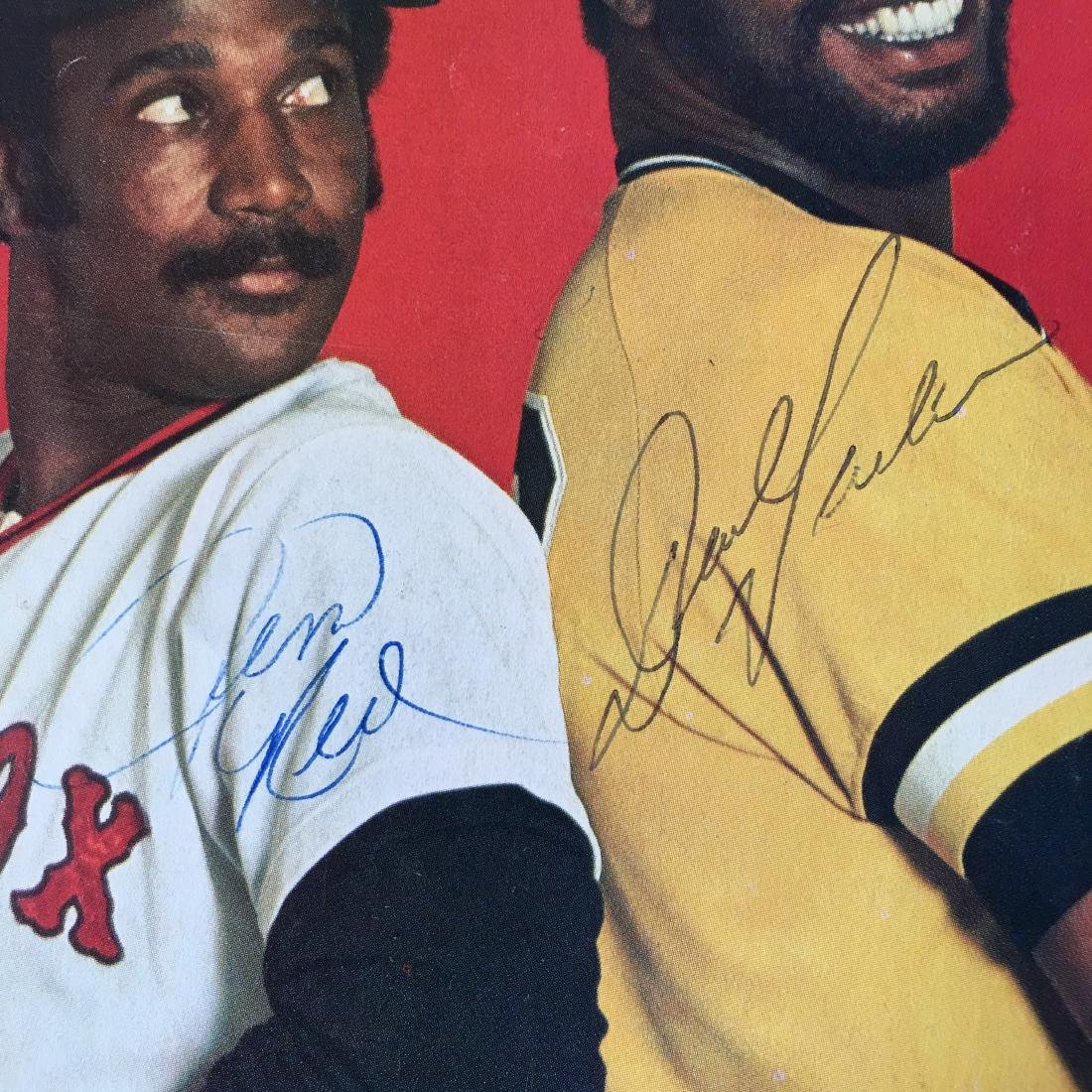 JIM RICE/DAVE PARKER HAND SIGNED PHOTO W/COA - 2