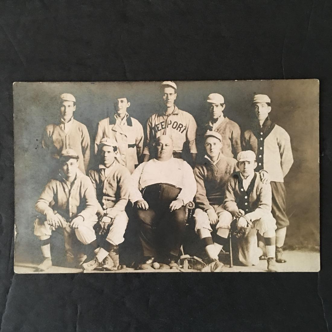 EARLY 1900'S BASEBALL TEAM FREEPORT POST CARD