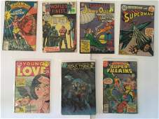VINTAGE DC COMICS ASSORTED COMIC BOOKS WONDER