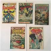 VINTAGE DC COMICS ASSORTED SUPERMANKAMANDIKARATE