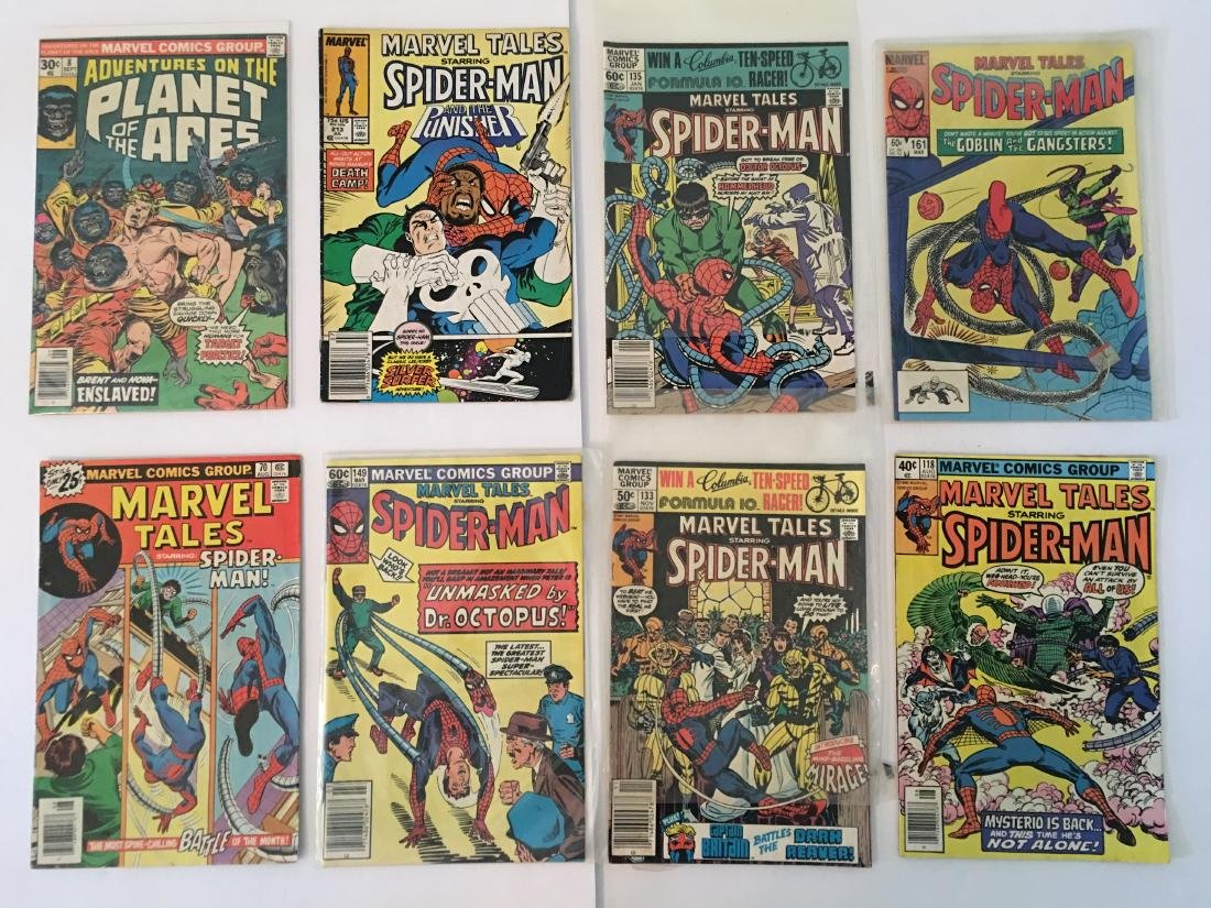VINTAGE ASSORTED MARVEL COMICS PLANET OF THE