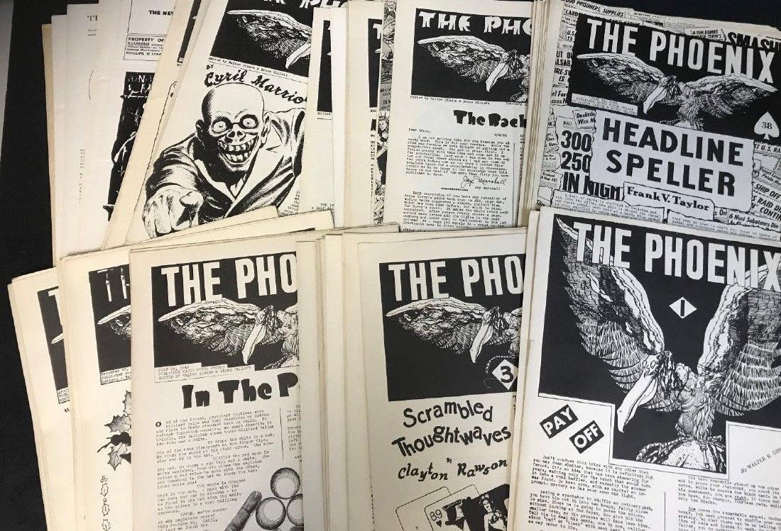 1943-45 MAGIC *THE PHOENIX NEWSLETTER* COLLECTION SET