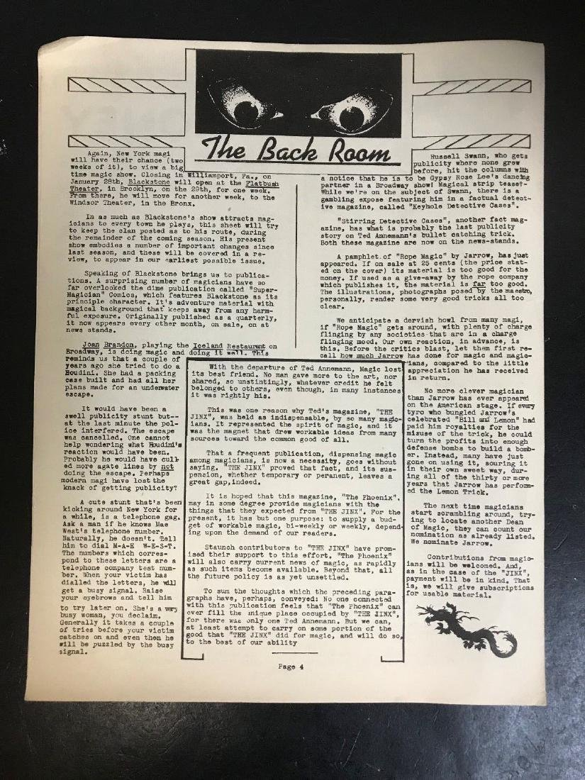 1943-45 MAGIC *THE PHOENIX NEWSLETTER* COLLECTION SET - 3