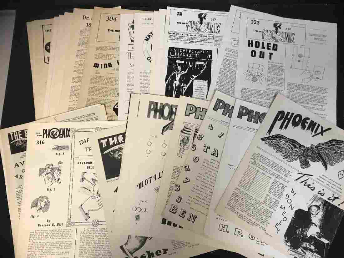 1940S/50S VINTAGE THE PHOENIX* NEWSLETTER LOT (30)