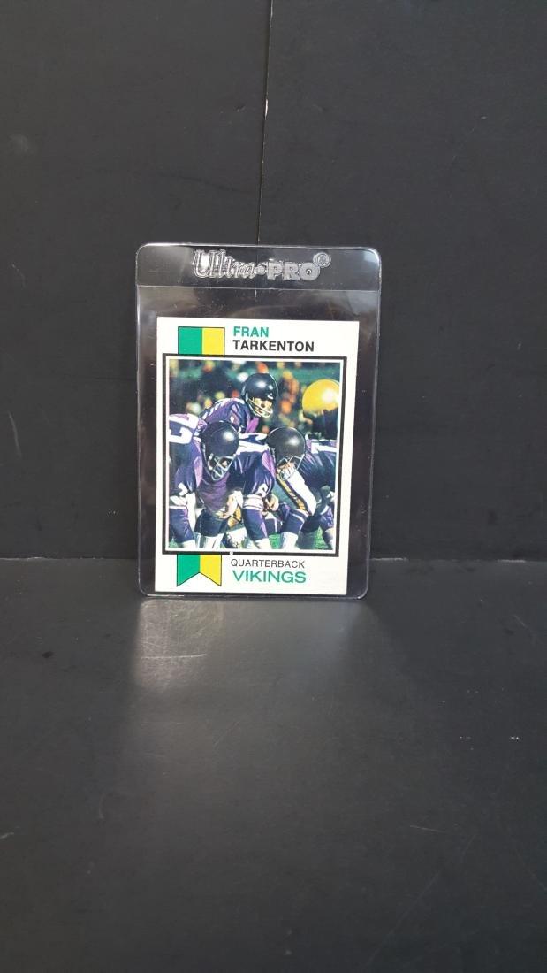 1973 TOPPS FOOTBALL CARD FRAN TARKENTON #60