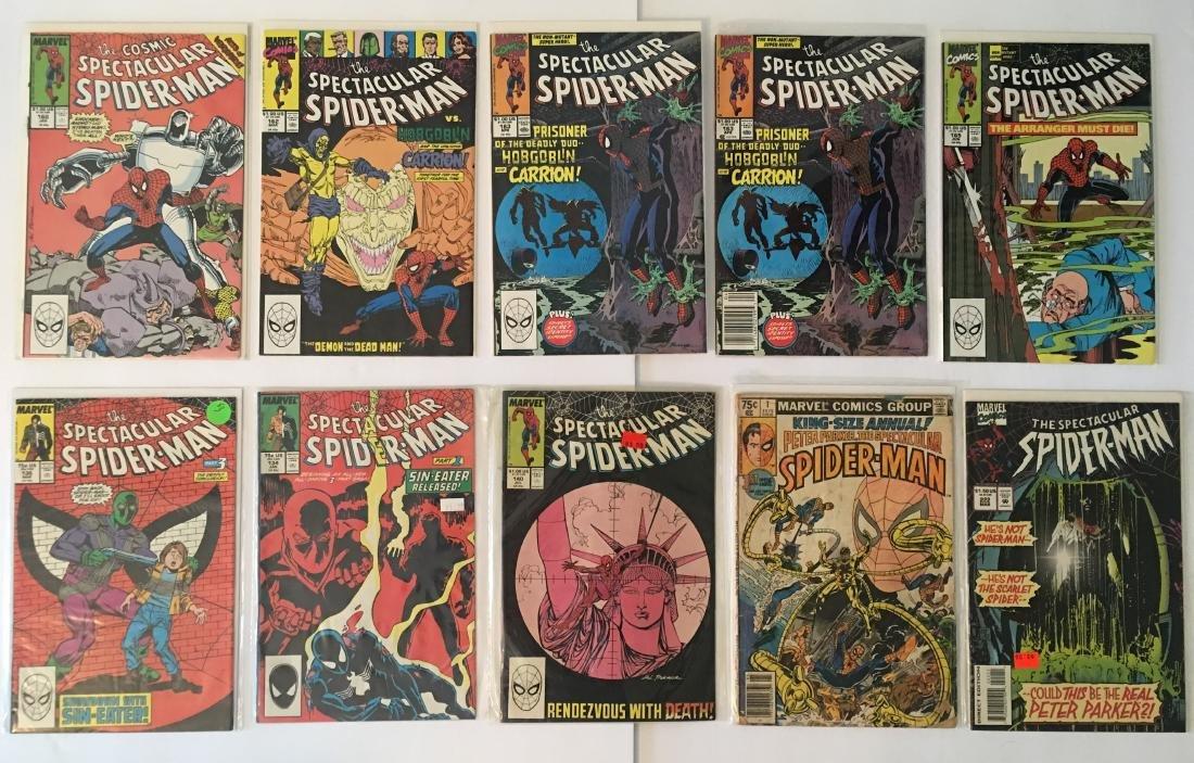 MARVEL COMICS SPECTACULAR  SPIDER-MAN COMIC BOOK LOT OF