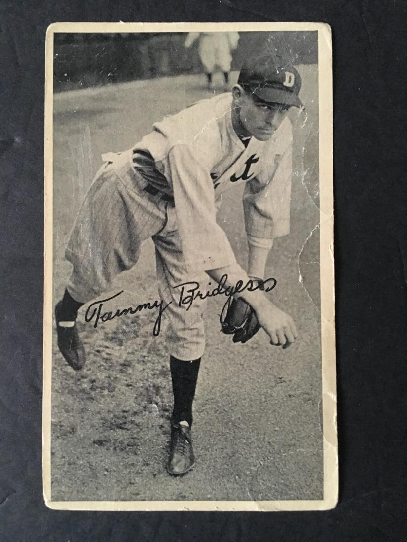 VINTAGE 1934 GOLD MEDAL FLOUR BASEBALL PICTURE CARD