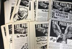 194345 MAGIC THE PHOENIX NEWSLETTER COLLECTION SET