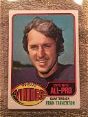 1976 TOPPS FOOTBALL CARD FRAN TARKENTON 500